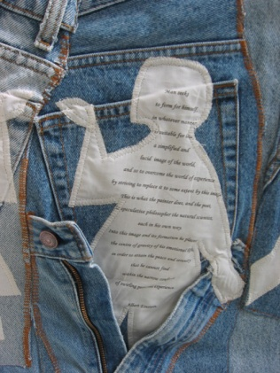 'Everybody's Wearing Blue Jeans', 2009. detail.